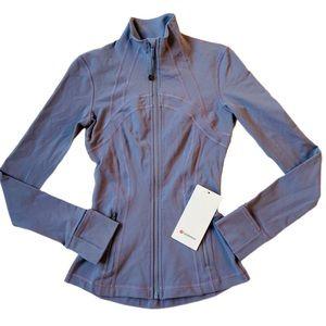 NWT Lululemon define zip jacket yoga gym wear